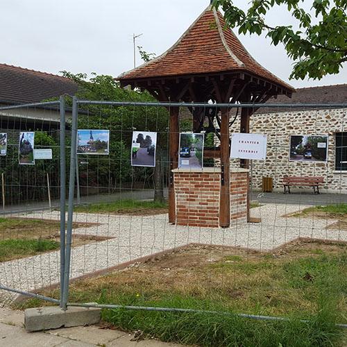 Initiatives77 - Déplacement du puits de Coubert (après)