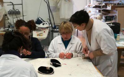 L'atelier des couturières à Nemours