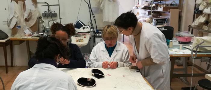 Actualité Initiatives77 : Atelier des couturières de Nemours