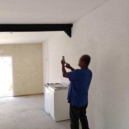 Initiatives77 - Création de la maison du football d'Evry-Grégy-sur-Yerre (intérieur)