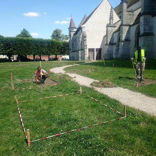 Initiatives77 - Création d'un jardin des sens à Mitry Mory