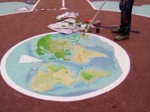 Décoration - globe terrestre