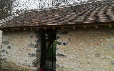 La rénovation du lavoir de la Genevraye