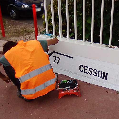 Initiatives77 - Panneaux Cesson