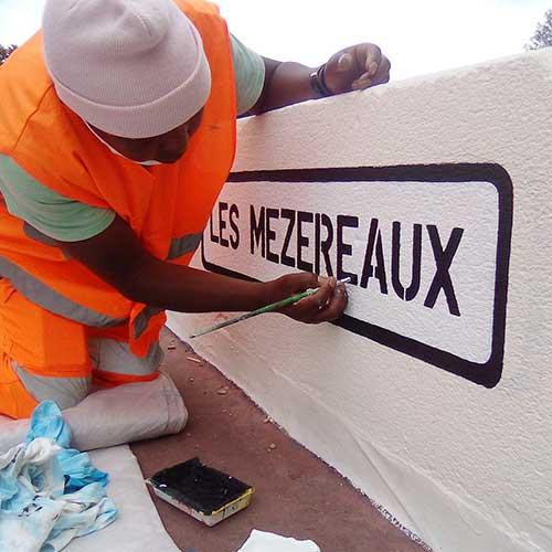 Initiatives77 - Panneaux Les Mézereaux