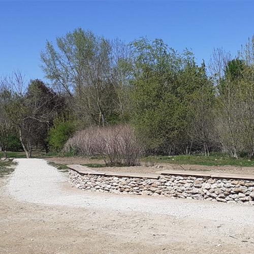 Initiatives77 - Muret en pierres sèches