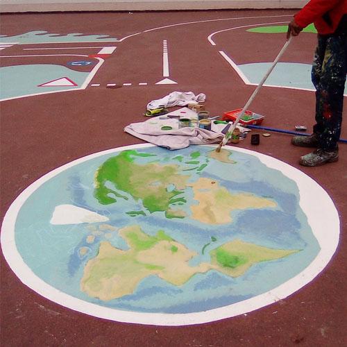 """Initiatives77 - Réalisation d'un """"globe terrestre"""""""
