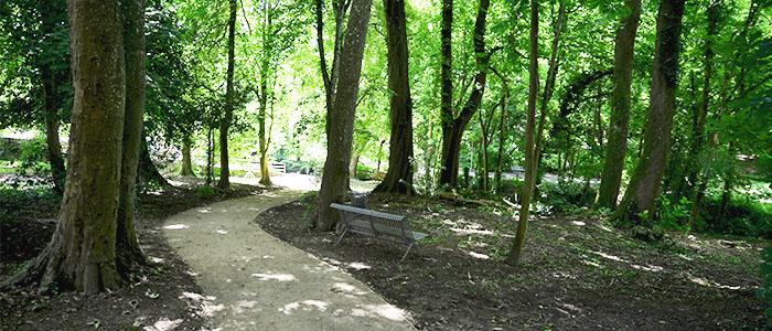 Actualité Initiatives77 : Création du cheminement au Parc de la Marsange à Tournant