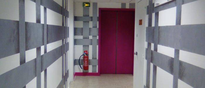 Le déménagement et l'embellissement de notre hall d'entrée