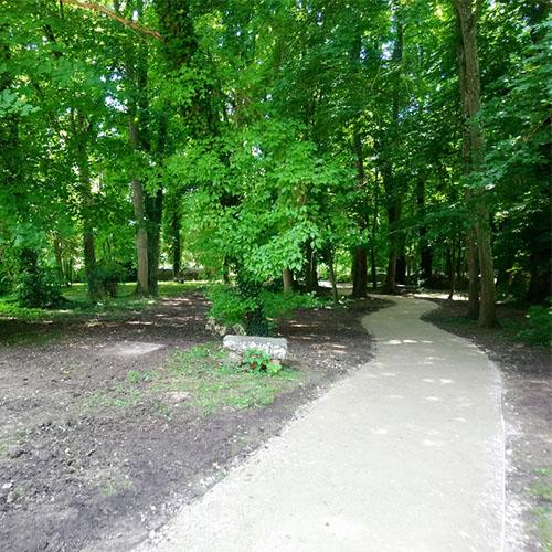 Initiatives77 - Création du cheminement au Parc de la Marsange à Tournant