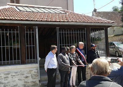 Initiatives77 - Inauguration du lavoir de Mortcerf