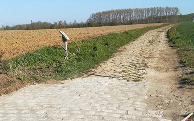 La réhabilitation du mur du cimetière et du Chemin de Villeneuve à Mitry-Mory