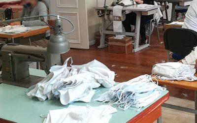 L'atelier des couturières de Provins fait des masques en tissu