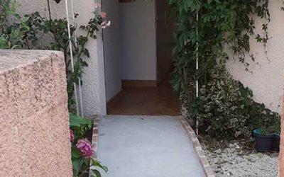 Les travaux d'adaptation dans un logement à Savigny-le-Temple