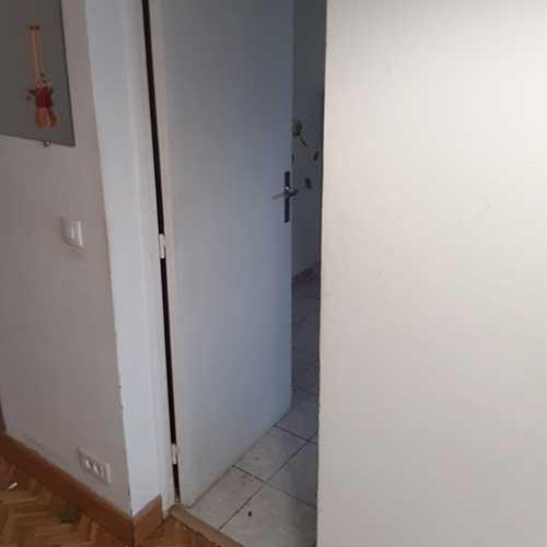 Initiatives77 - Adaptation accès intérieur cuisine/couloir (avant)