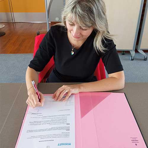 Initiatives77 - Sandrine SOSINSKI, élue Présidente d'Initiatives77